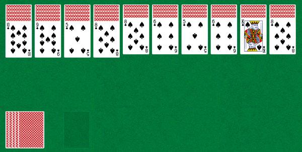 Карты пасьянс паук играть 4 масти бесплатно онлайн масти играли в карты на раздевание а потом