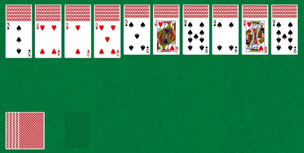 Карты паук одной масти играть онлайн как играть в косынку карты